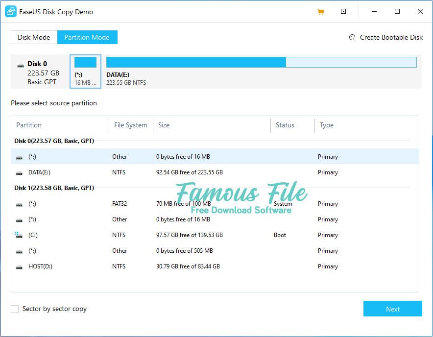 EaseUS Disk Copy for Windows