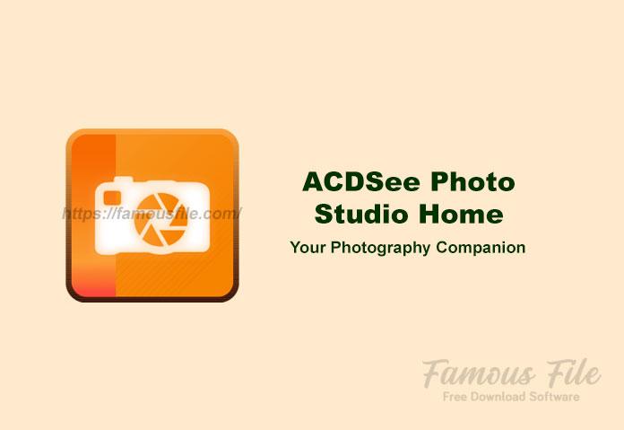 ACDSee Photo Studio Home for Windows