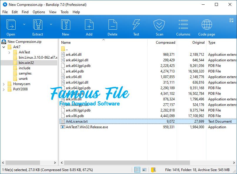 Bandizip for Windows