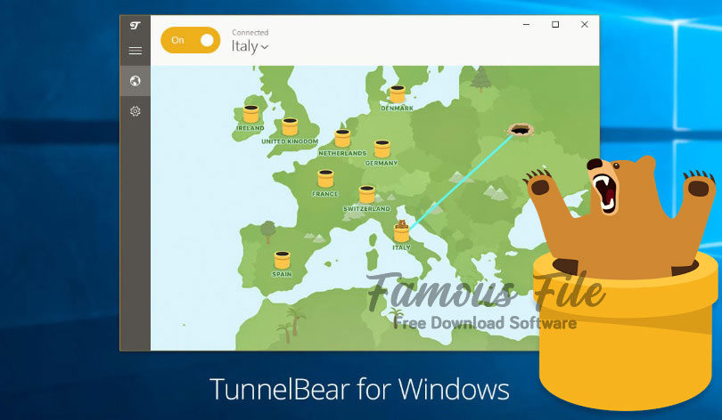 TunnelBear 2020 for Windows Free Download