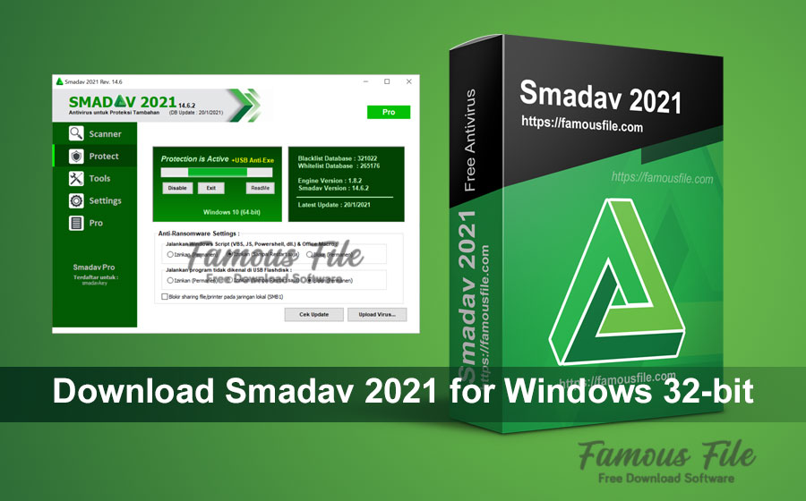 Download Smadav 2021 for Windows 32-bit