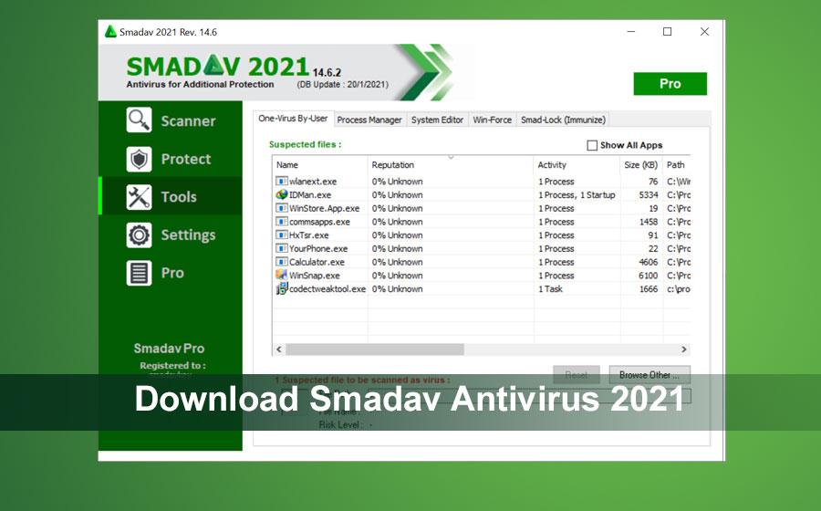Download Smadav Antivirus 2021 Rev.14.6