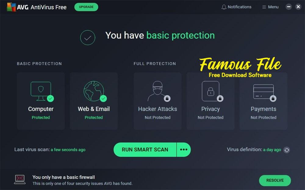 AVG Antivirus For Windows