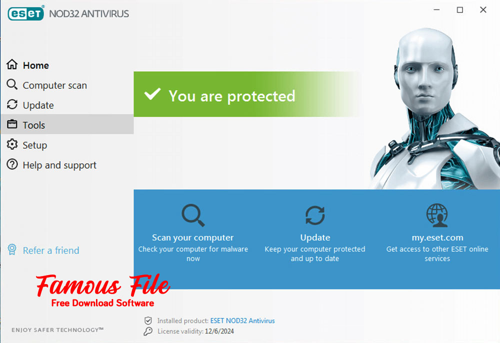 ESET NOD32 Antivirus 2021 for Windows