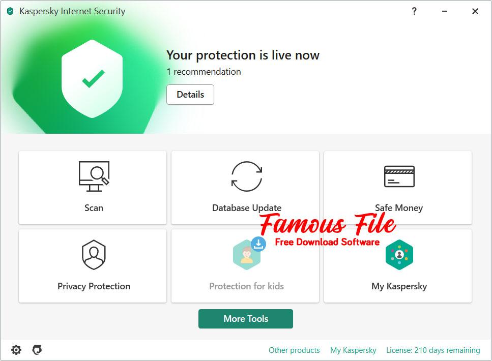 Kaspersky Antivirus 2021 for Windows